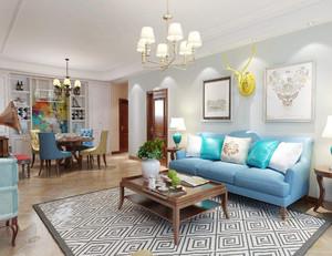 乳膠漆客廳顏色搭配效果圖