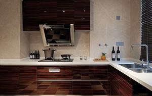 新中式廚房集成灶效果圖