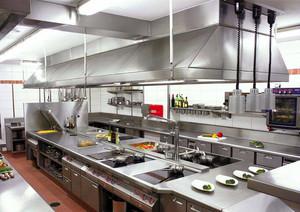 飯店廚房隔斷裝修效果圖