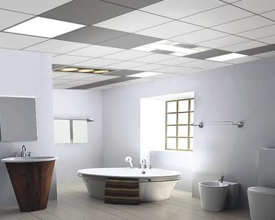 卫生间厨房阳台集成吊顶效果图