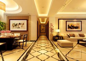 中式風格的室內地面布置圖
