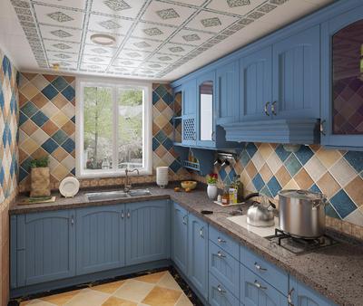 厨房卫生间集成吊顶效果图