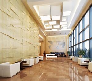 公司門廳設計效果圖