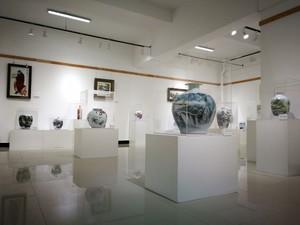 陶瓷展廳布置效果圖