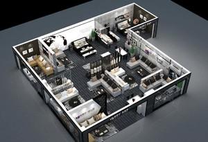家具展廳施工圖