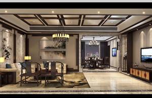 中式家具展廳效果圖