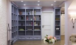 小臥室拐角書柜效果圖
