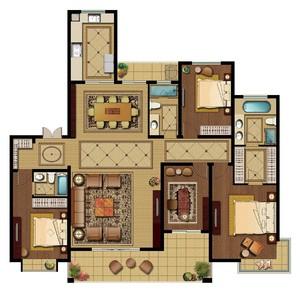 簡易房屋平面圖