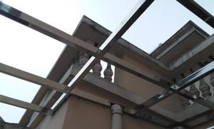小門面房鋼結構閣樓圖