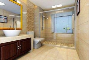 酒店衛生間浴室柜效果圖