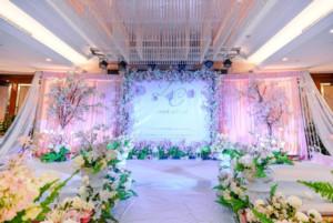 婚禮酒店裝飾畫圖片大全集