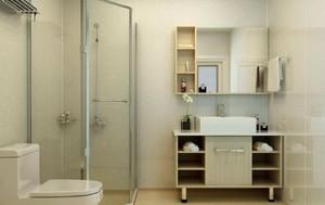 簡易浴室淋浴房效果圖