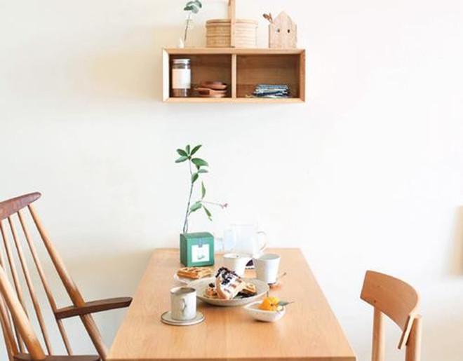 家庭茶室搁板置物架图