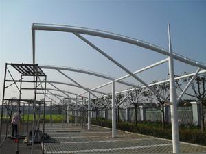 鋼結構車棚施工圖