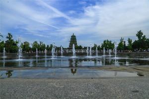 廣場噴泉效果圖