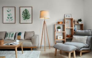 小戶型簡約風格18平不規則客廳沙發裝修效果圖