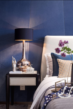 60平米小戶型現代港式風格老人臥室裝修效果圖