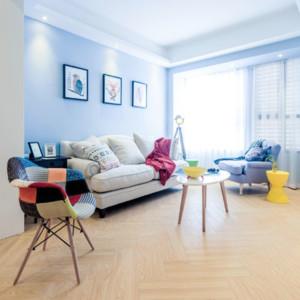 小戶型簡約風格10平米超小客廳地面裝修效果圖