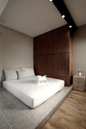 160平米復式日式簡約15平方臥室裝修效果圖