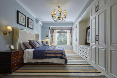 35平米簡約時尚風格豪華公主臥室裝修效果圖