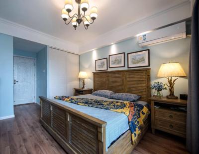 250平米房子地中海風格豪華公主臥室裝修效果圖