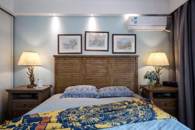 150平米房子簡約美式風格豪華公主臥室裝修效果圖