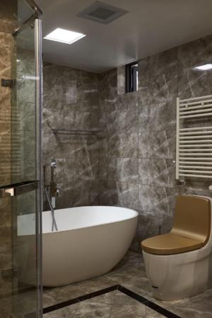 150平米現代創意風格衛生間瓷磚顏色裝修效果圖
