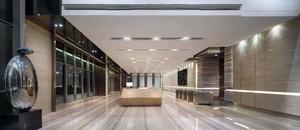 300平時尚輕奢風格辦公樓大廳裝修效果圖