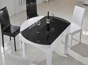90平現代簡約風格玻璃餐臺圖片欣賞