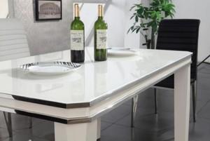 105平現代簡約玻璃餐臺設計效果圖