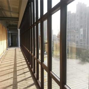 1700平寫字樓玻璃幕墻片裝修效果圖