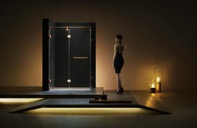 6平米卫生间玻璃浴室装修效果图