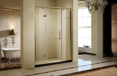 15平米卫生间玻璃浴室装修效果图