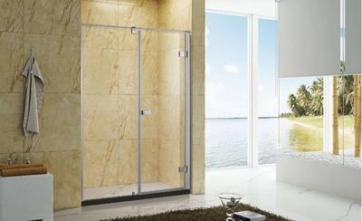 7平米卫生间玻璃浴室装修效果图