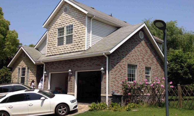780平米美式别墅屋面瓦装修效果图