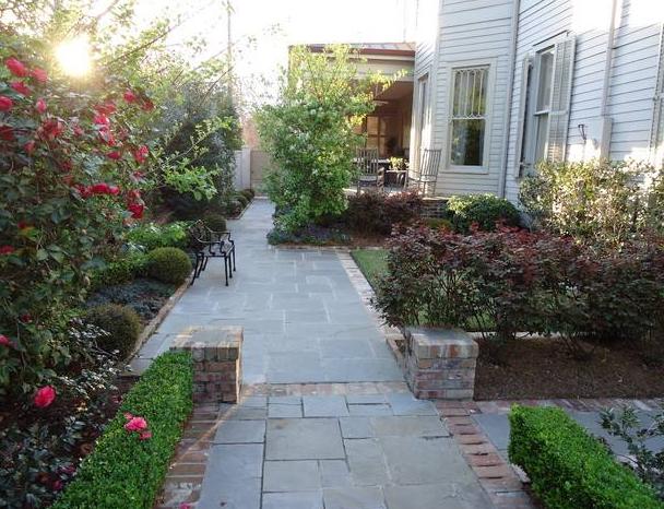 15万元以内农村别墅现代简约风格花园设计实景装修效果图