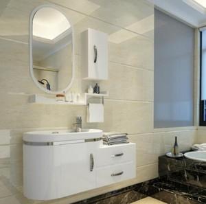 80平米兩居室衛生間鏡柜裝修效果圖
