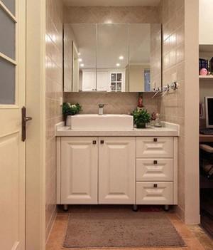 120平米大戶型衛生間鏡柜裝修效果圖