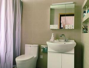 90平米小戶型衛生間鏡柜裝修效果圖