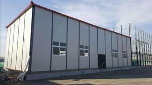 300平米大型彩鋼廠房裝修效果圖