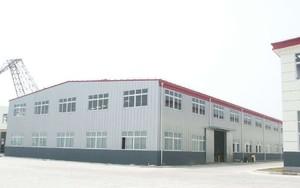 2500平米白色大型彩鋼廠房裝修效果圖