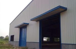 400平米單層彩鋼房裝修效果圖