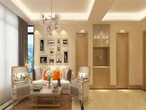 90平米現代風格家具擺放裝修效果圖