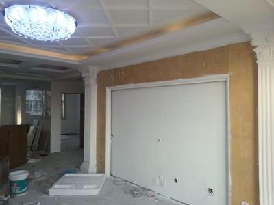 别墅客厅pvc吊顶装修效果图