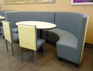 60平米一居室宜家半圓形沙發裝修效果圖