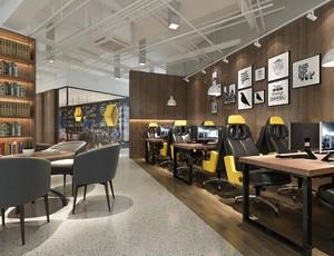 200平米都市风格咖啡屋装修效果图