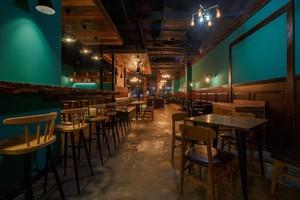 300平米自然风格咖啡屋装修效果图