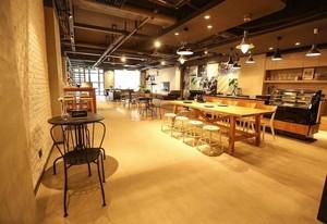 190平米轻快风格咖啡屋装修效果图