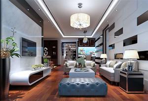90平米現代風格意風家具沙發裝修效果圖