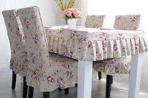 80平米現代風格桌布椅套圖片大全